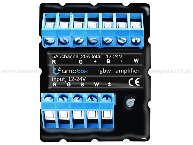 podłączyć diody LED do wzmacniacza