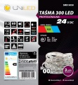 Taśma LED UNILED RGB 24V 300