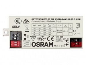 Zasilacz OSRAM Optotronic OT FIT CS MINI 30...42V 225/250/325/350mA 6,7…14,7 W