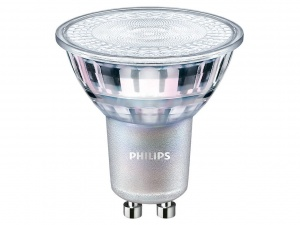 Żarówka LED Philips  GU10 36°MASTER LEDspot value 4.9W 3000K 365lm ściemnialna