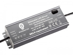 "MCHQ250V12B z funkcją Dimming ""3 in 1""12V 18A IP67 216W"