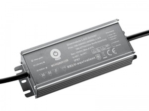 "MCHQ80V12B z funkcją Dimming ""3 in 1""12V 6,7A IP67 80W"
