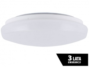 Plafon LED PIATTO 22W 1980lm biały neutralny 4000K IP44 UNILED