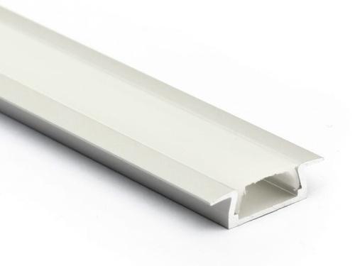 profil led micro k klosz mleczny alu 15wm neo led. Black Bedroom Furniture Sets. Home Design Ideas