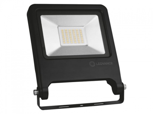 Naświetlacz LED 4058075268623 FLOOD VALUE 30W 4000K BK IP65