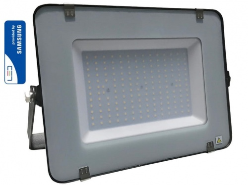 VT-150 150W SMD FLOODLIGHT WITH SAMSUNG CHIP COLORCODE:4000K BLACK BODY GREY GLASS