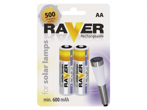 Baterie AA raver rechargeable for solar lamps