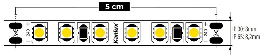 taśma LED kanlux L120